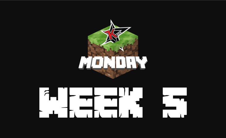 Minecraft Monday Week 5: Teams, live stream and results