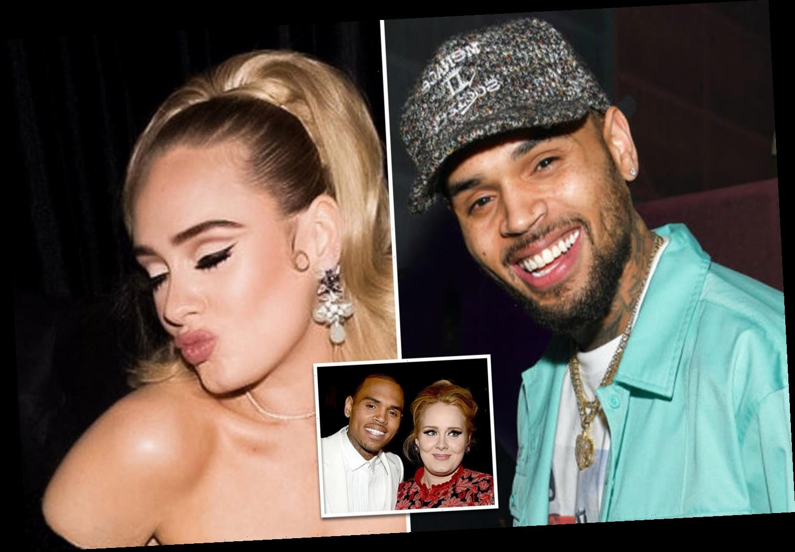 Are Adele And Chris Brown Dating Celebrity Cover News
